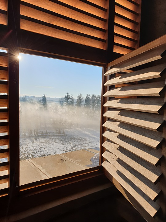 Window, Opening, Fog, Sun, Views, Freedom