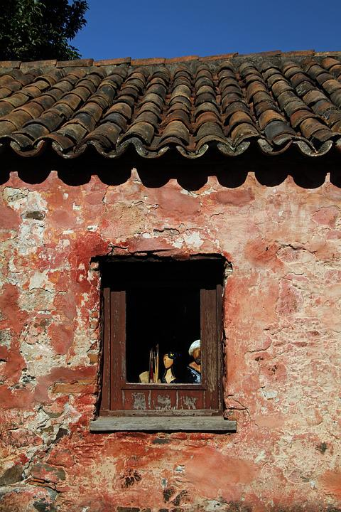 Window, Uruguay, Old, Architecture, Building, Exterior