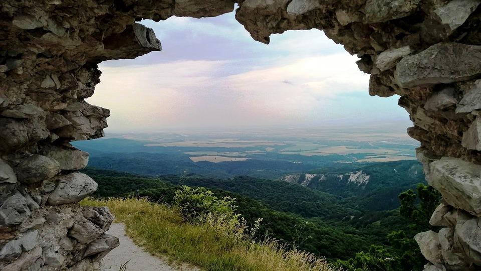 Castle, Views, Window