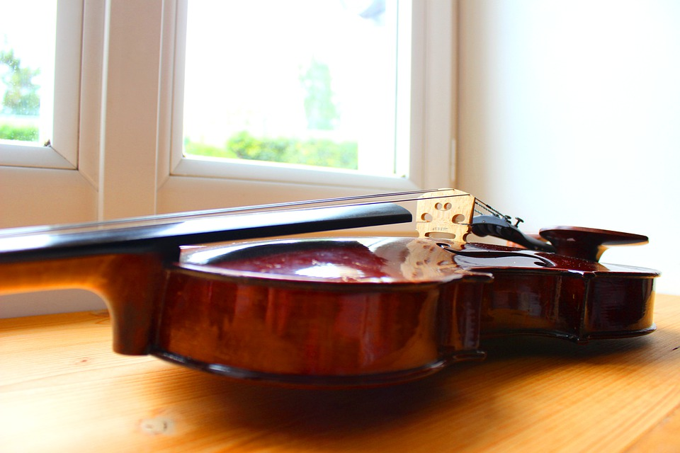 Violin, Window, Sound, Music