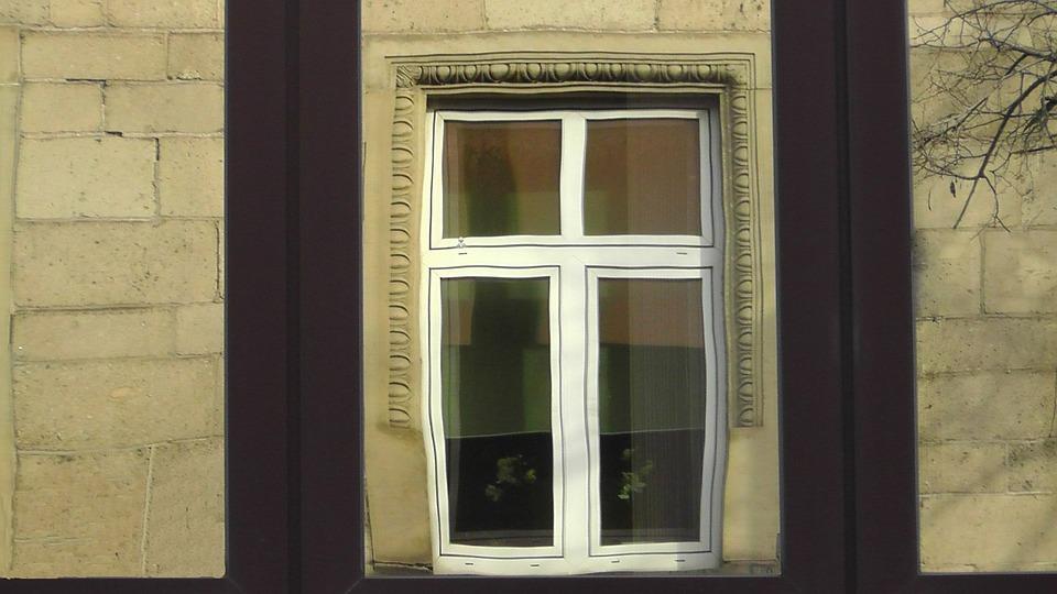 Window, Wall, Building, Facade, Mirroring, Reflection