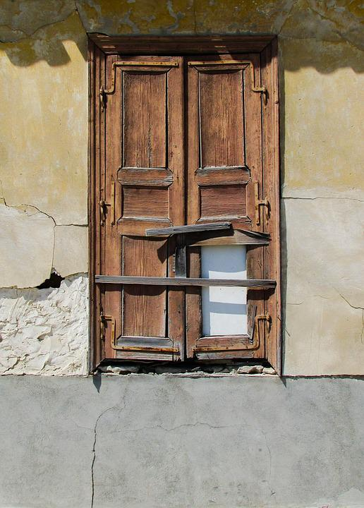 Window, Old, Weathered, Rusty, Decay, Wear, Wooden