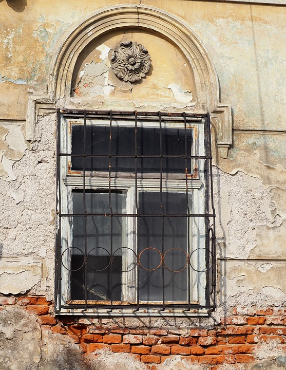 Old Window, Window Grilles, Window, Old, Grid, Grate