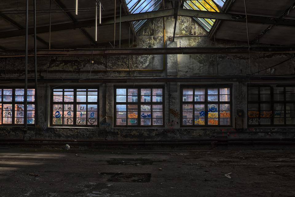 Leave, Architecture, Old, Window, Within, Building
