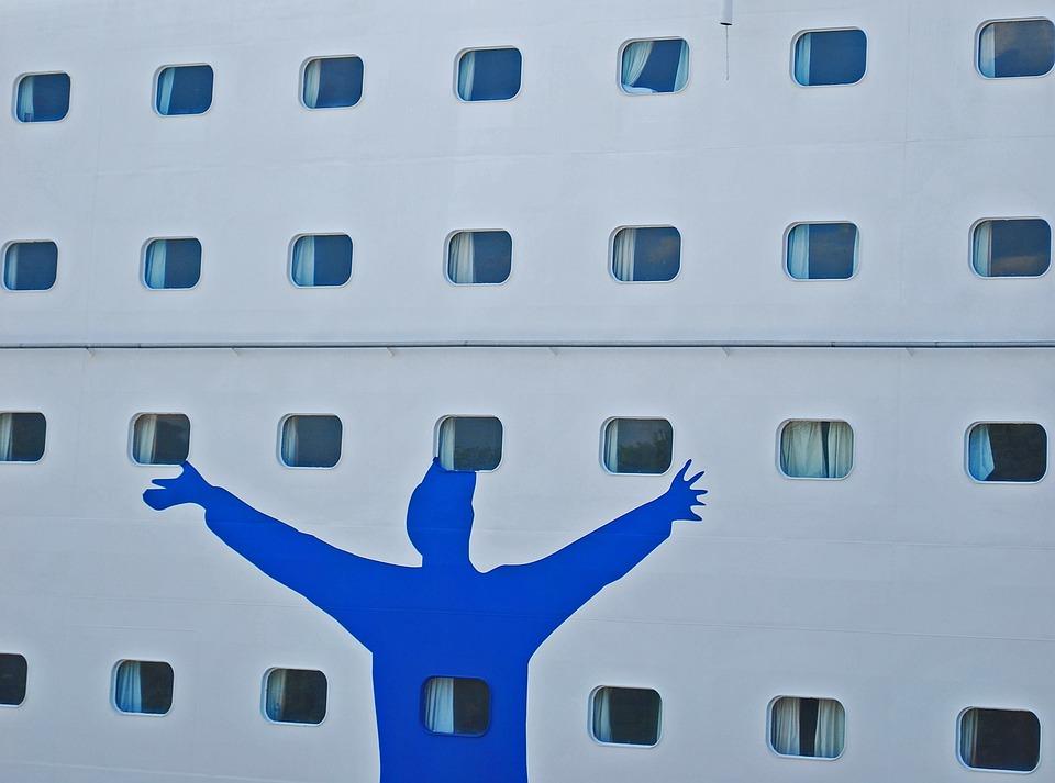 Boat, Oslo, Silhouette, Windows, Transatlantic