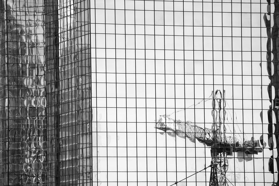 Building, Windows, Reflection, Towers, High Rises