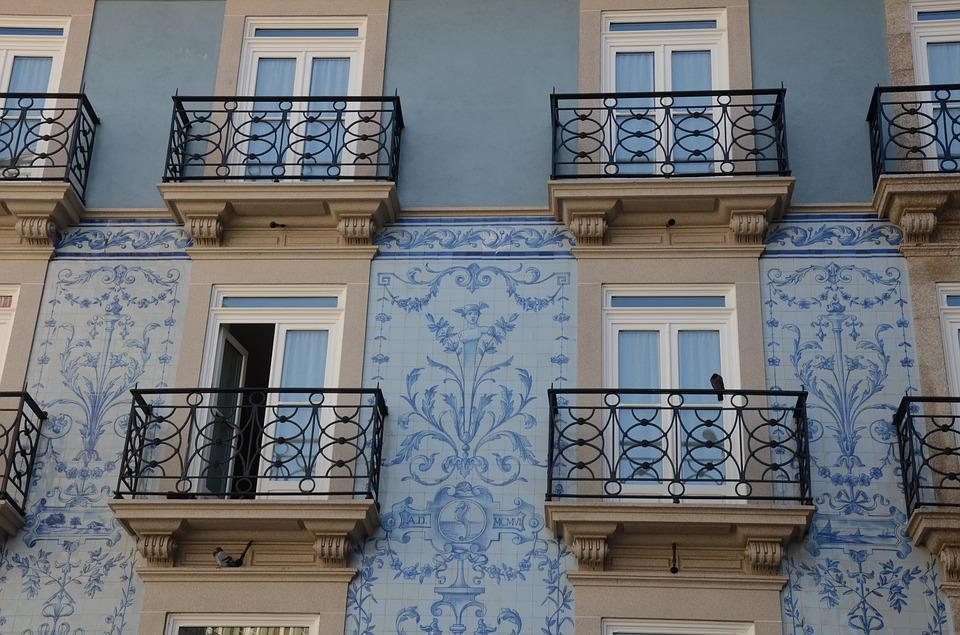 Tiles, Portuguese Windows, Portugal, Windows, Porto