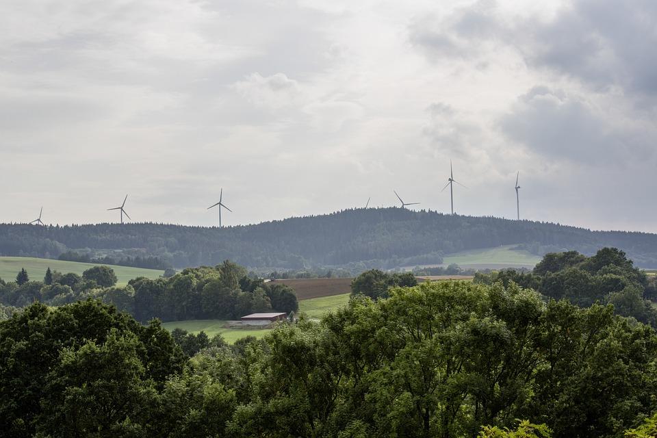 Energy, Pinwheel, Windräder, Wind Power, Sky