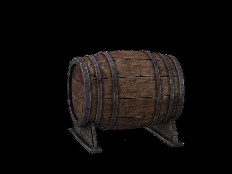 Barrel, Wooden Barrels, Beer Keg, Wine Barrel