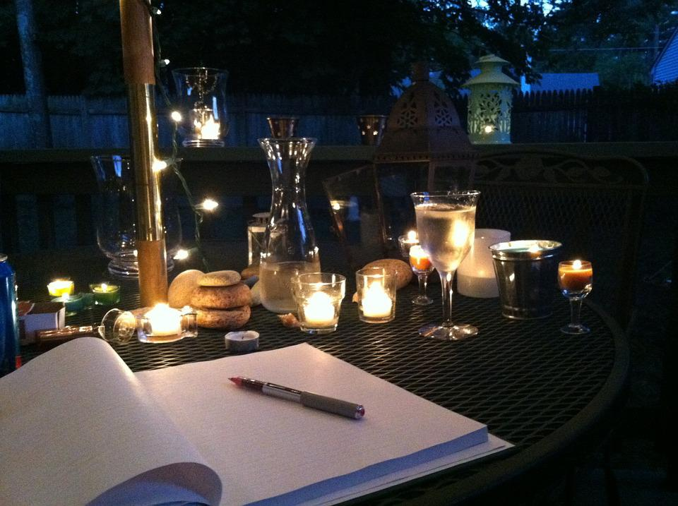 Wine, Candlelight, Candle, Glass, Romantic, Dining