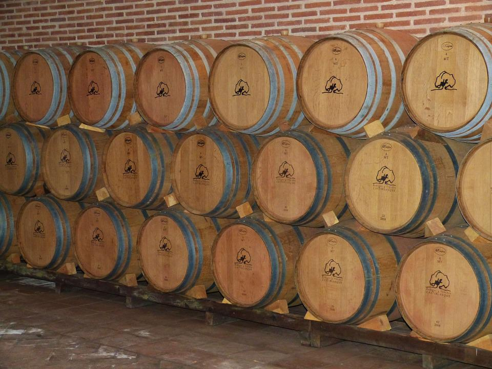 Wine, Cellar, Wine Barrels, Wine Storage, Barrel