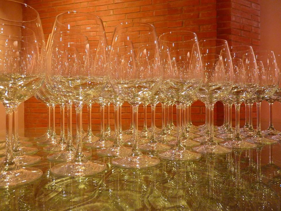 Glass, Wine Glass, Wine, Glasses, Transparent, Clear