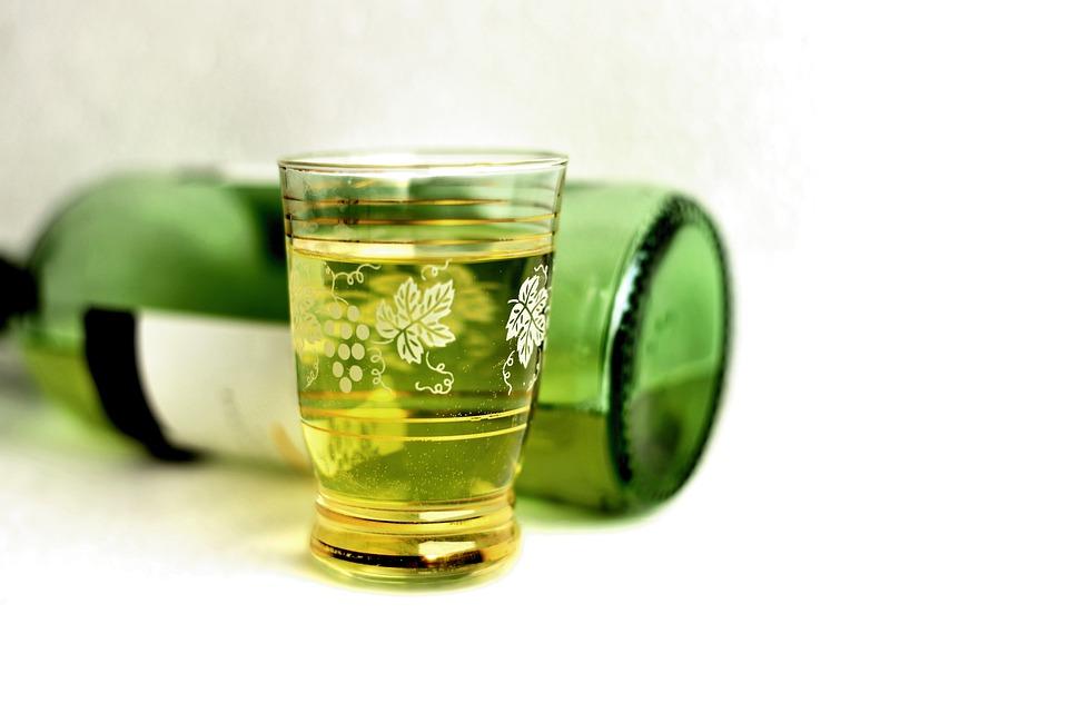 White Wine, Wine Glass, Wine, Glass, Alcohol, Drink