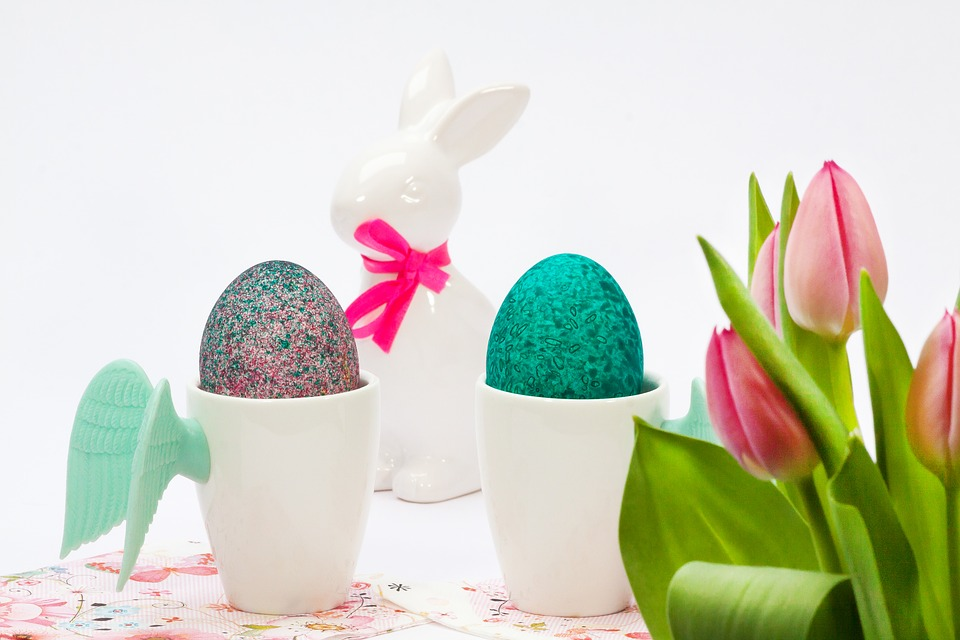 Easter, Cup, Wing, Egg Cups, Tulip Bouquet, Tulip, Pink