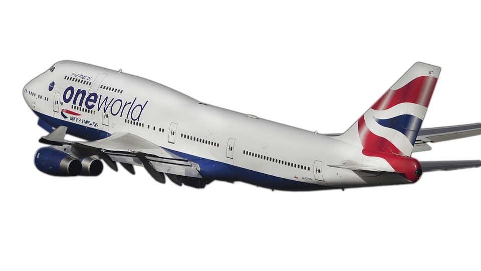 Airline, Airplane, B-747, Plane Aircraft, Wing, Image