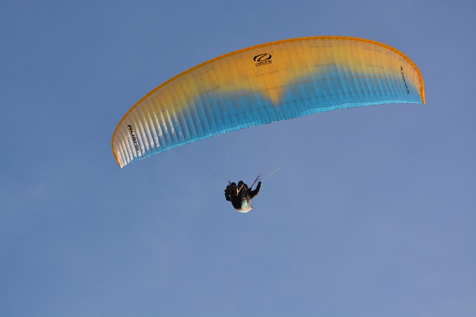 Paragliding-paraglider, Wing Ozone Rush 5, Wing
