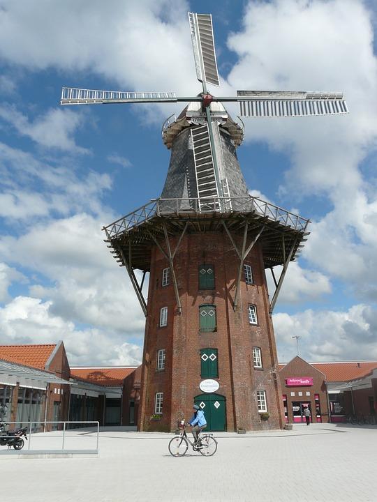Mill, Windmill, Wing, Wind, Wind Reel, Rotor, Turn