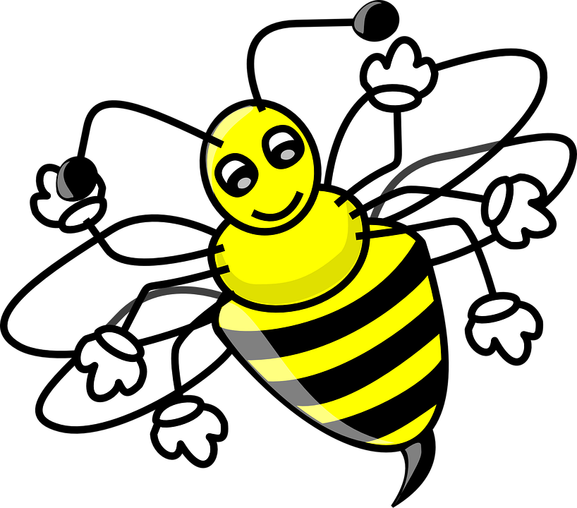 Bee, Honey, Wings, Stinger, Insect, Bug, Cute