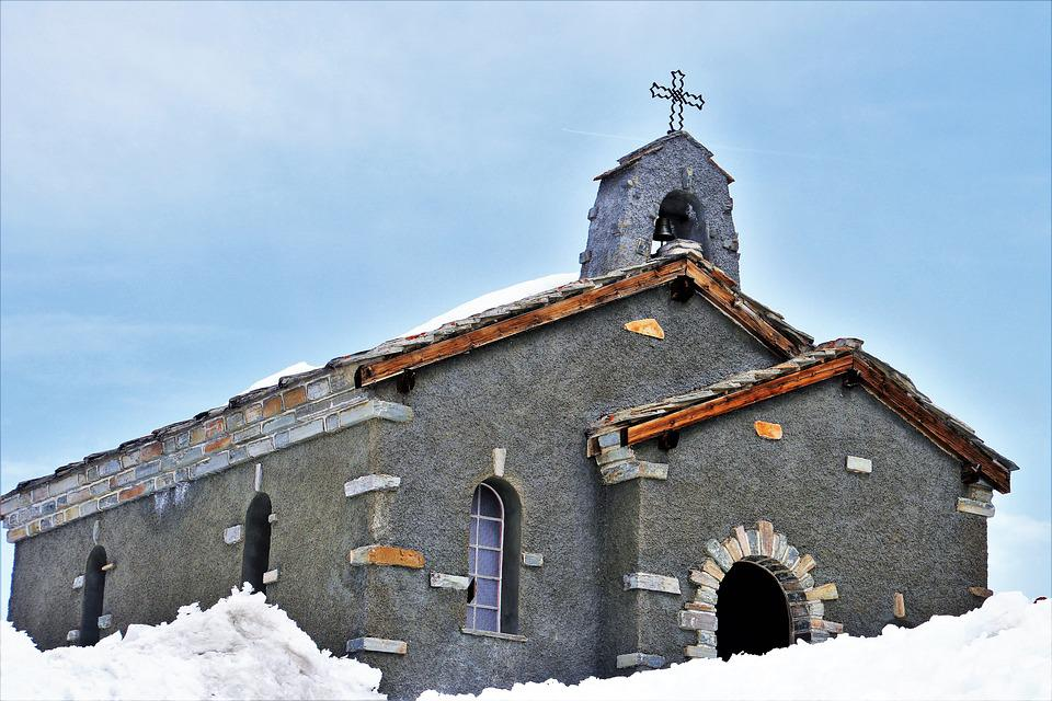 Winter, Architecture, Snow, Building, Religion