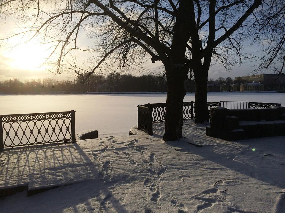 Winter, Nature, River, Snow, Cold, Winter Background