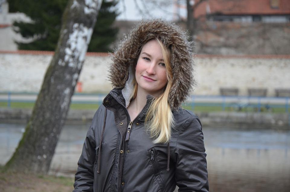 Barbora, Girl, Winter, Park