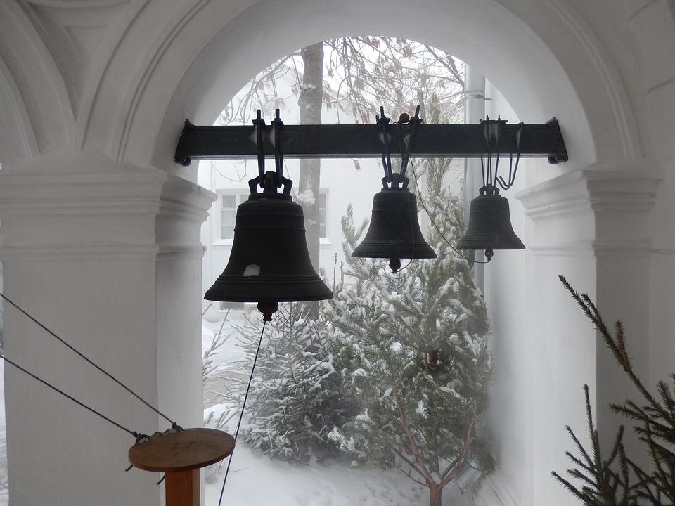 Bell, Winter, Snow, Tourism, Religion, Monastery