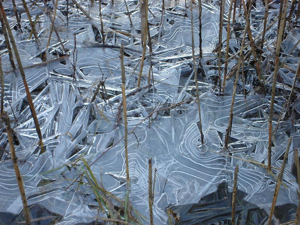 Ice, Sheet, Sheet Of Ice, Nature, Cold, Winter, Lake