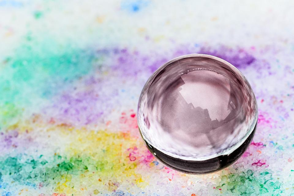 Glass Ball, Color, Colorful, Smooth, Snow, Winter