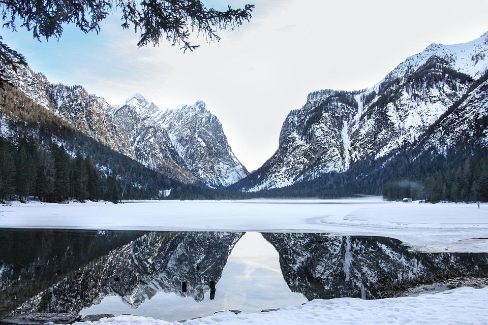 Snow, Mountain, Winter, Nature, Ice, Frozen, Water