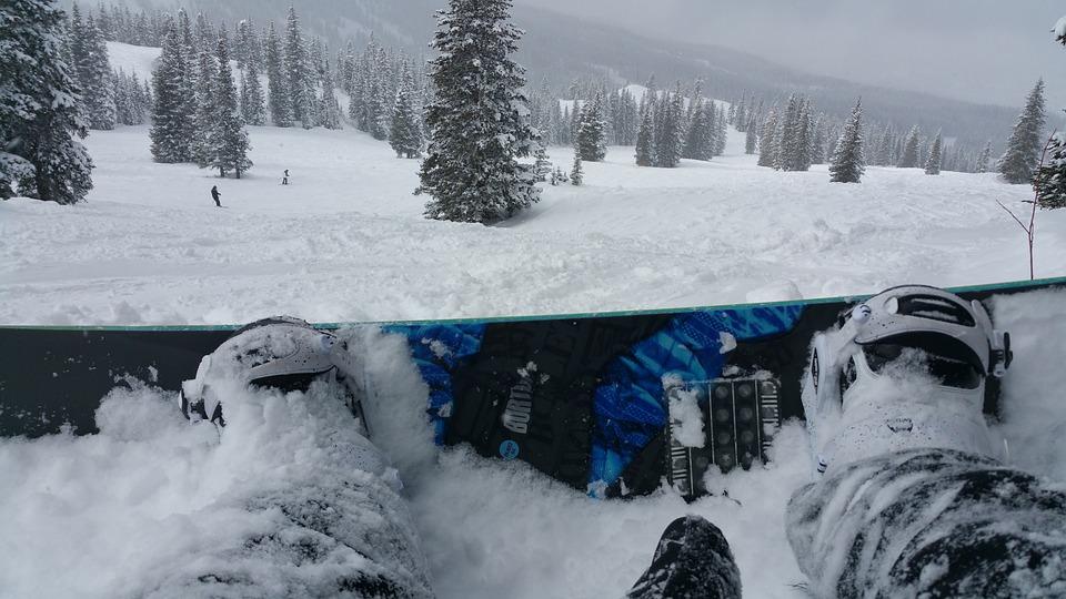 Winter, Snow, Snowboarding, Holiday, Season, White