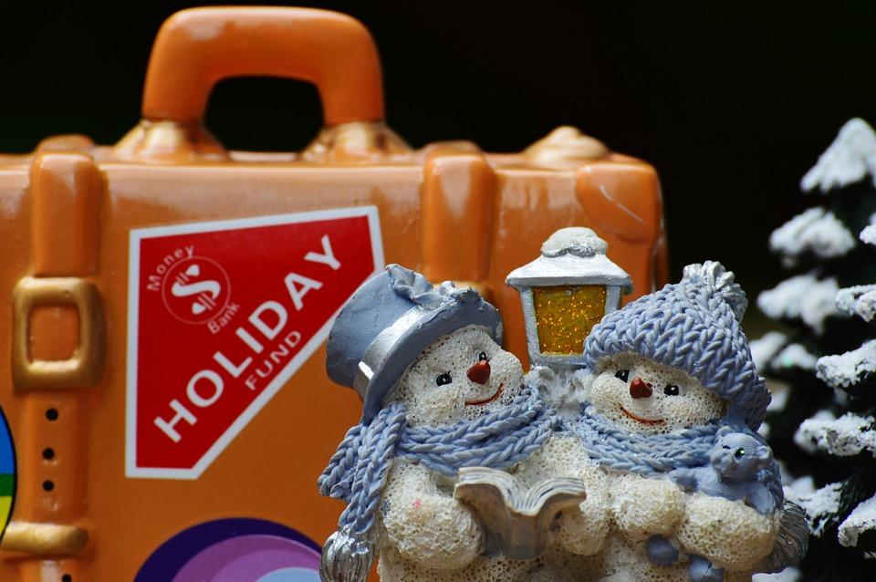Winter Holiday, Christmas Holidays, Travel, Luggage