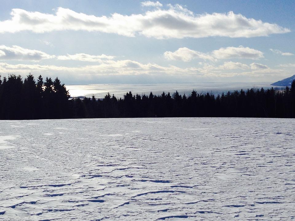 Winter Landscape, Charlevoix, Snow