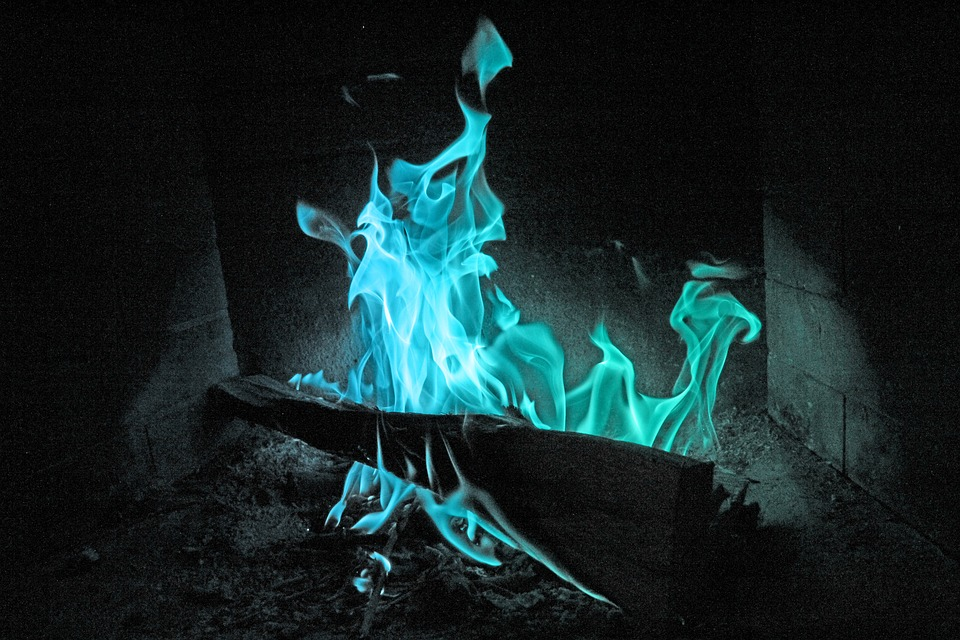 Fire, Winter, Light, Color