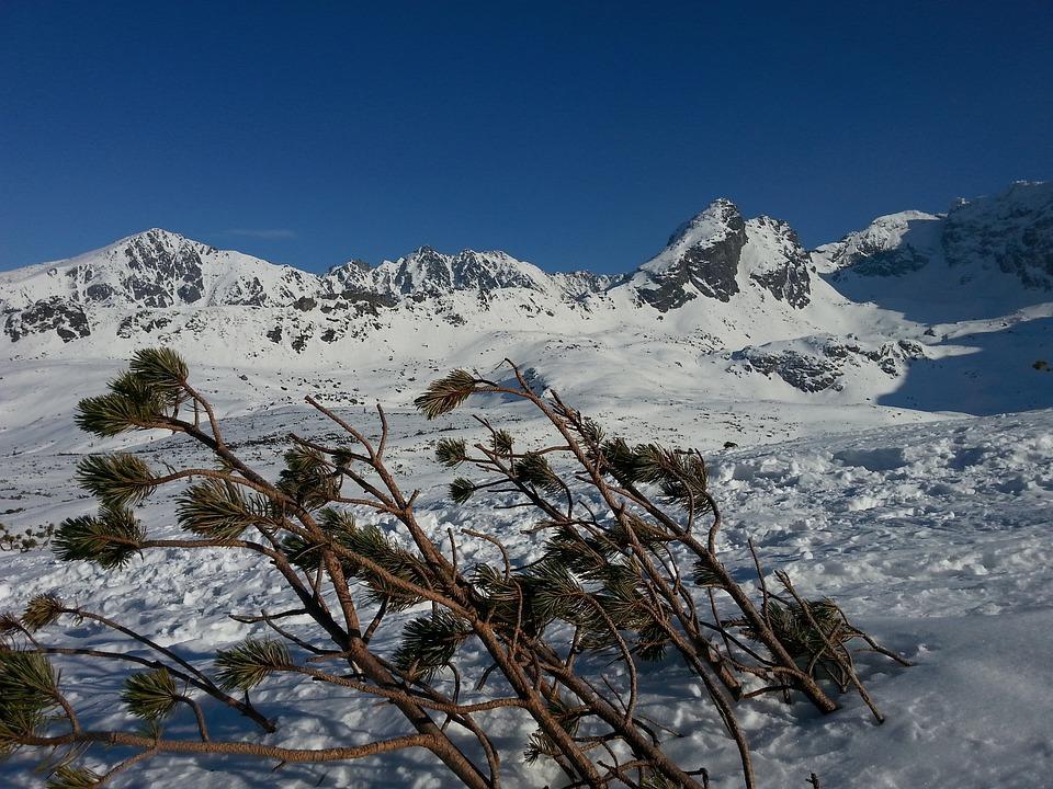 Mountains, Tatry, Winter