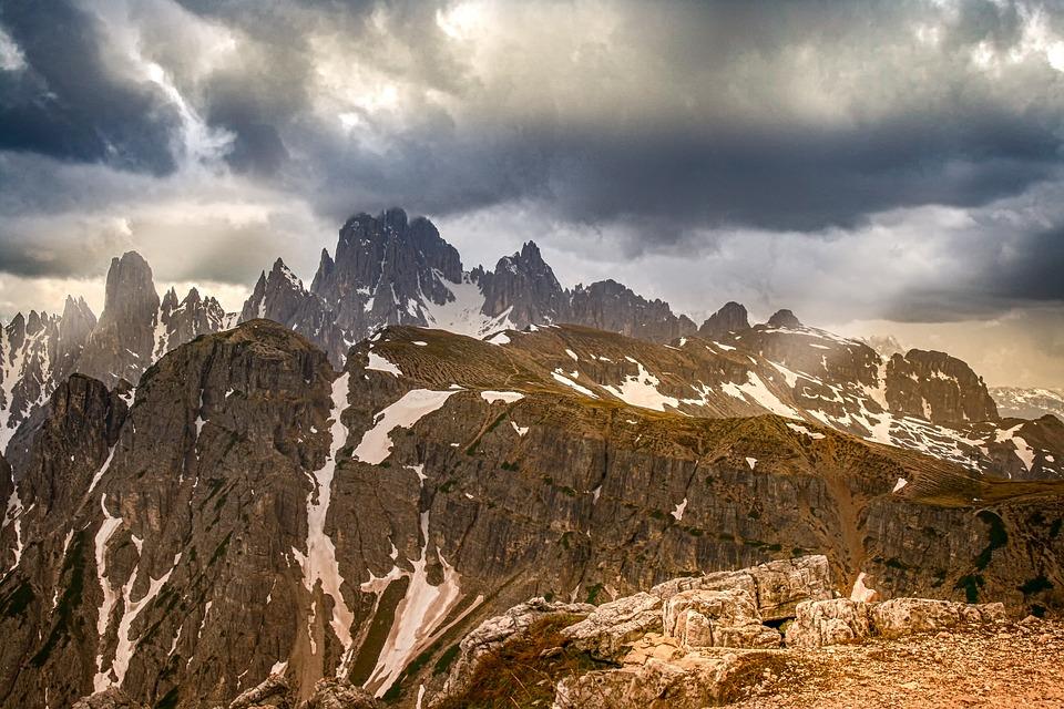 Alpine, Mountains, Nature, Landscape, Winter, Snow