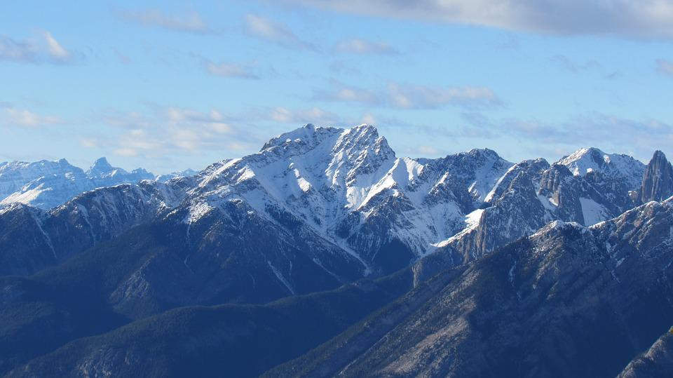 Rockies, Mountain, Nature, Landscape, High, Winter