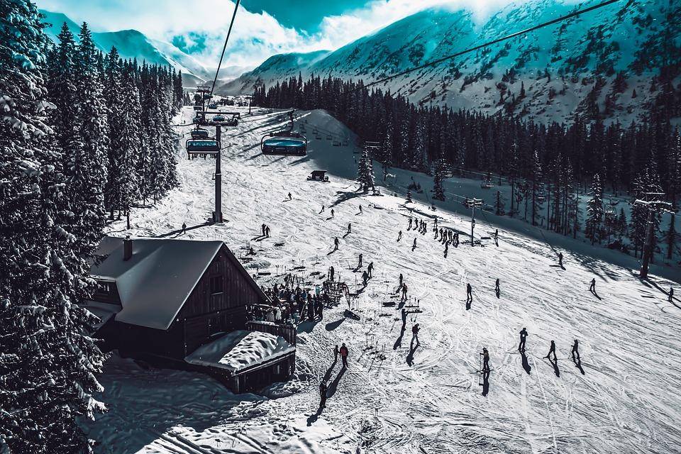 Ski, Snow, Winter, Cold, Landscape, Mountains, Nature