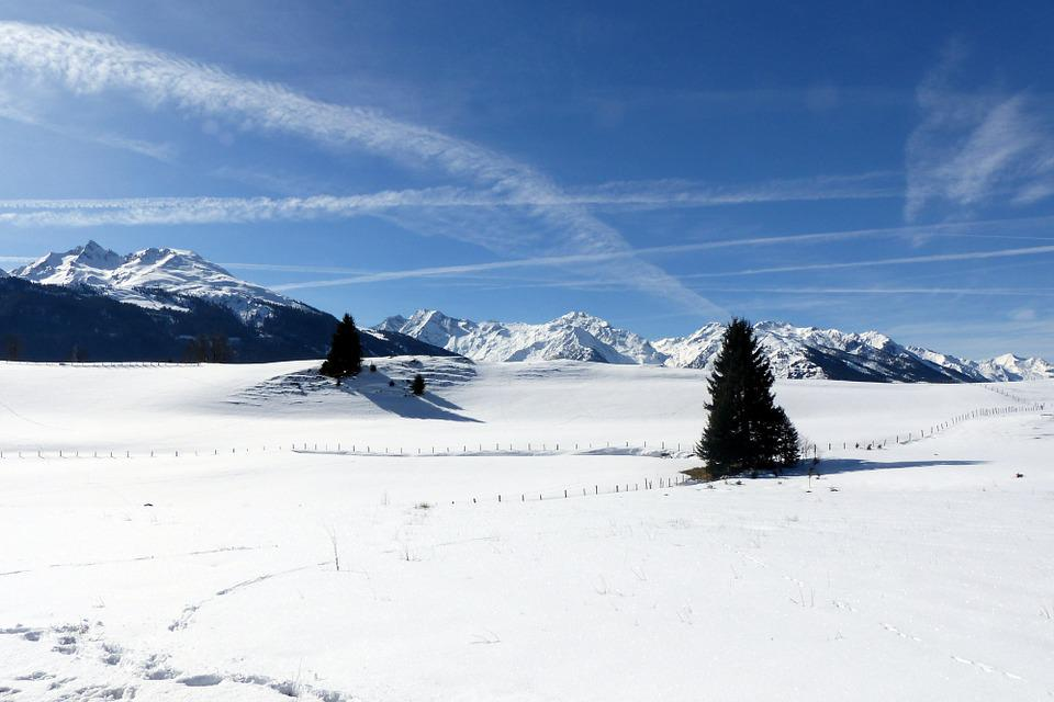 Snowfield, Mountains, High Tauern, Nature, Winter, Snow
