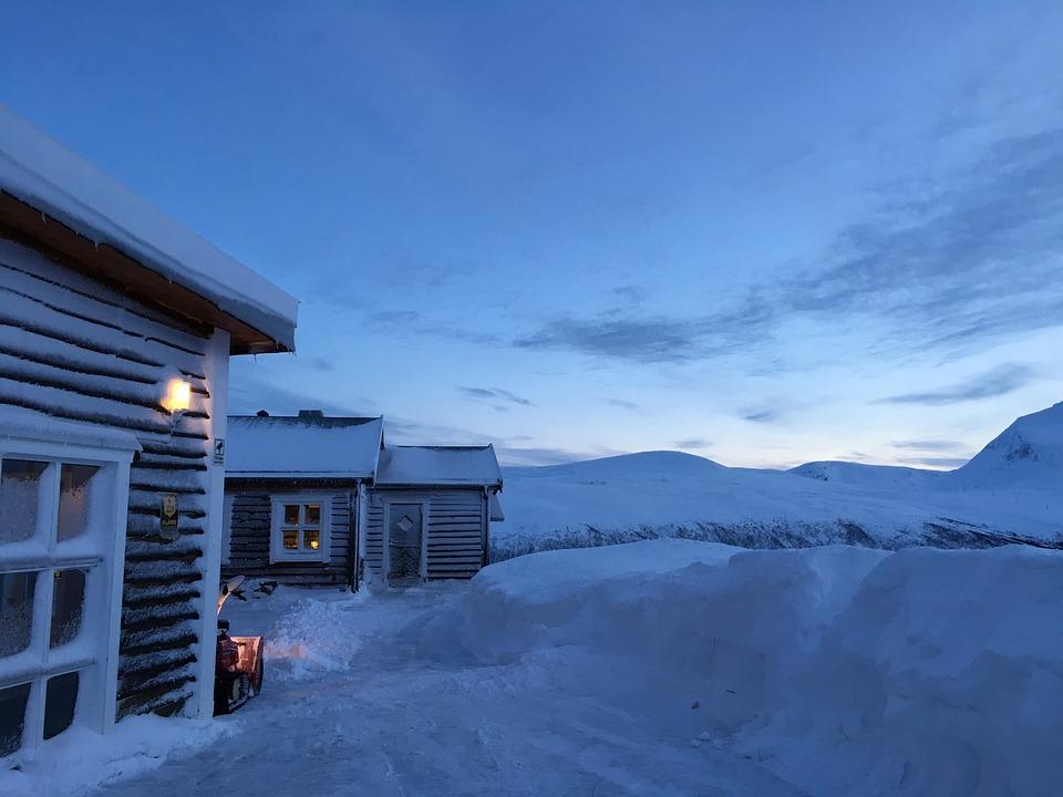 Tromso, Norway, Polar Circle, Arctic Circle, Winter