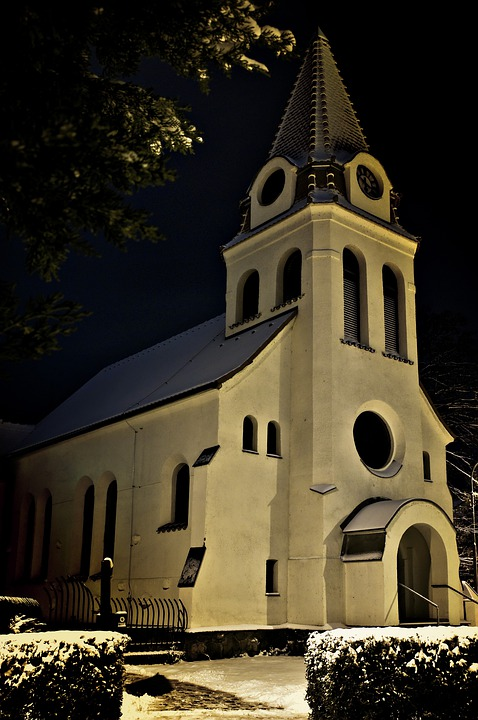 Church, Winter, Adventist, Religion