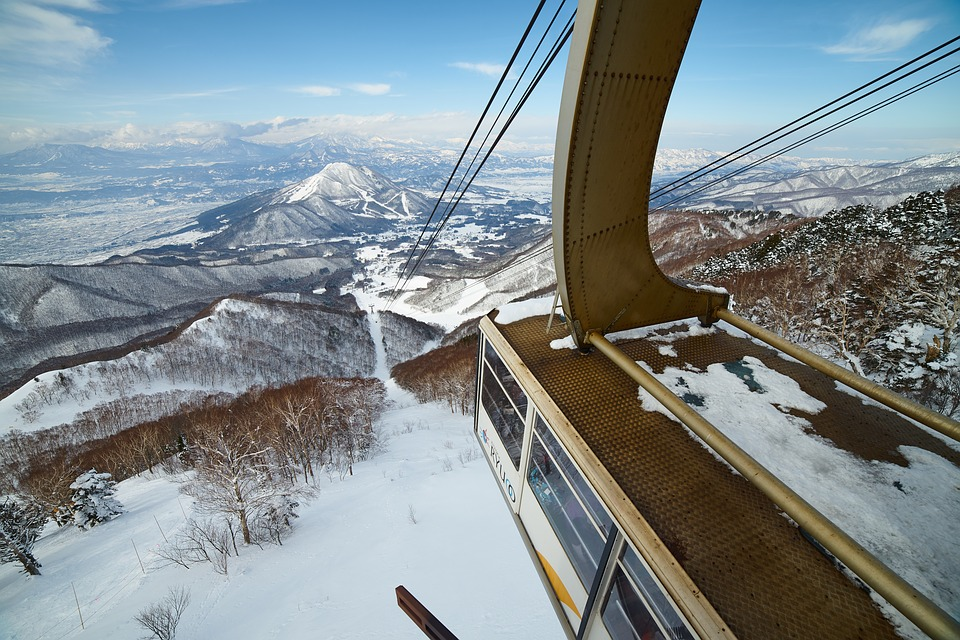 Snow, Journey, Winter, Natural, Sky, Ropeway
