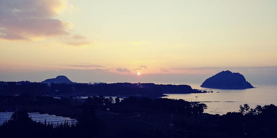 Sunrise, Sea, Morning, Sky, Beach, Dawn, Winter Sea