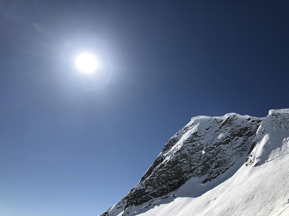 Snow, Winter, Sky, Nature