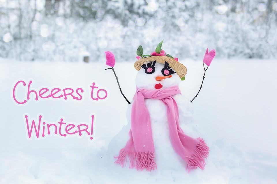 Snow Woman, Snowman, Snow, Winter, Cold, Fun, Woman