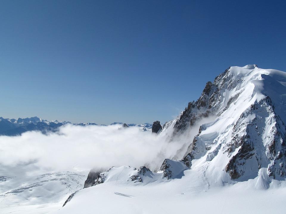 Mountain, Snow, Winter, Snow Mountain, Landscape