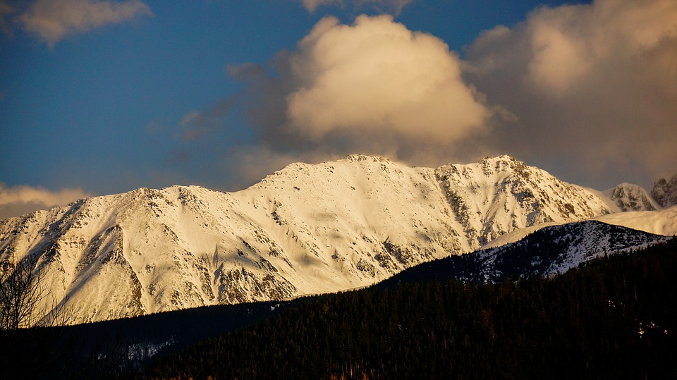 Landscape, Tatry, Mountains, Winter, Snow