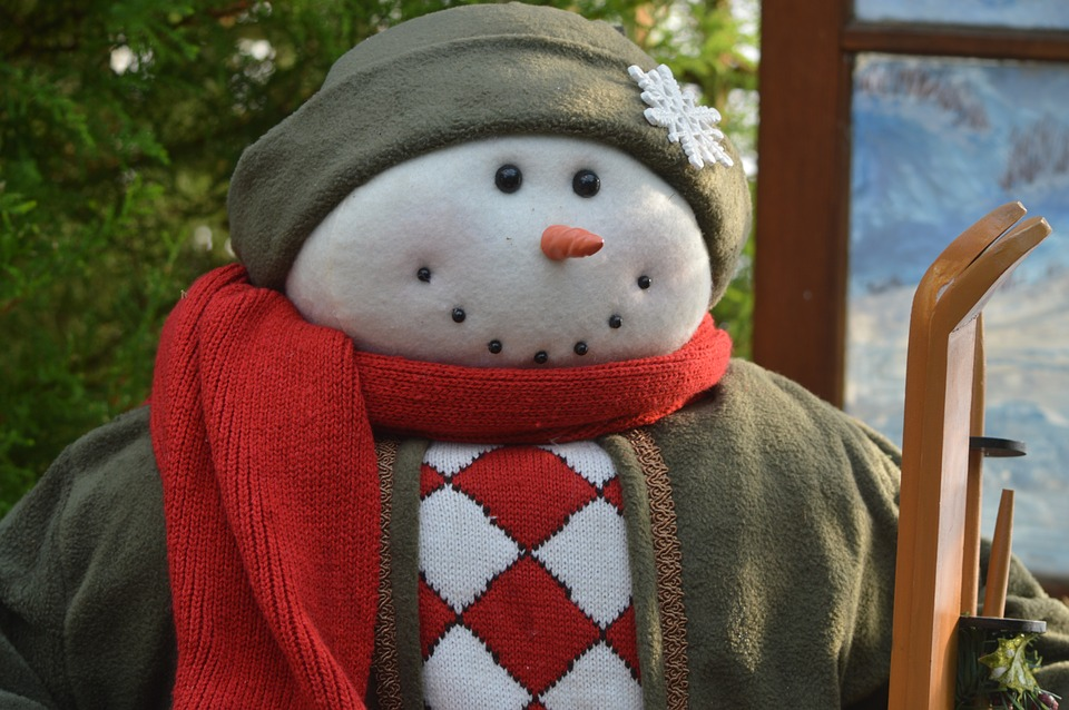 Snowman, Winter, Christmas, Xmas, Holiday, December