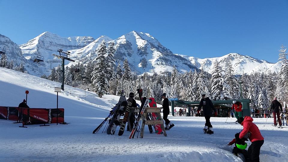 Ski, Skiing, Snow, Winter, Winter Sports, Mountains