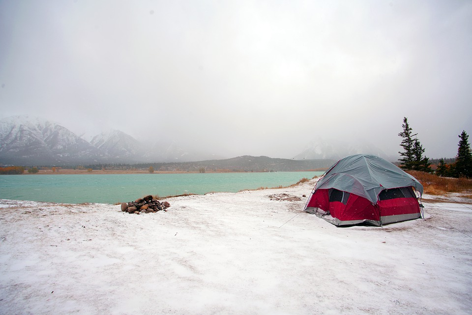 Camping, Tent, Camp, Winter, Nature, Adventure, Travel