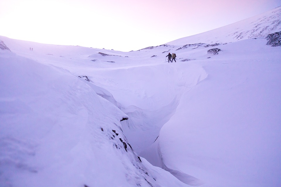 Snow, Sunset, Hiking, Cold, Winter Landscape, Winter